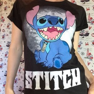 Rawr LILO and Stitch Soft T-Shirt Tee